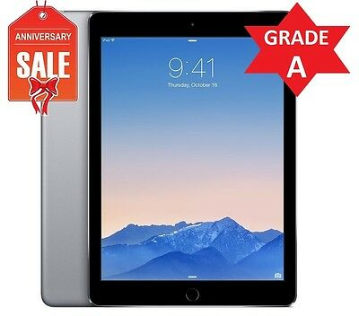 Apple iPad mini 3 128GB, Wi-Fi + Cellular (UNLOCKED), 7.9in - Space Gray (R)
