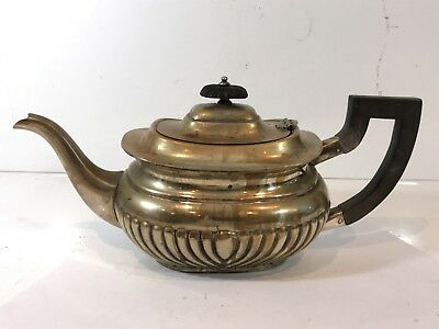 Vintage Silver Plated Teapot Collectable Tea Serving Pot With Lovely Design