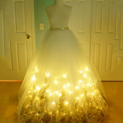 LED String Fairy Lights Wedding Party Spring Battery Decoration Warm White BEST