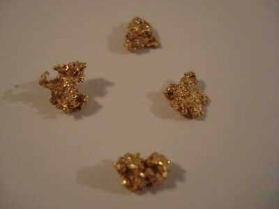 Gold Nuggets--2.08 grams--Clean--Bright--WA Goldfields--Prospector Direct