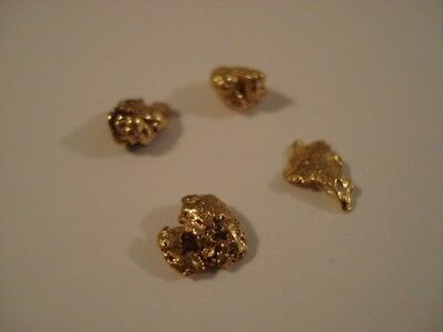 Gold Nuggets--2.34 grams--Bright--WA Goldfields--Prospector Direct