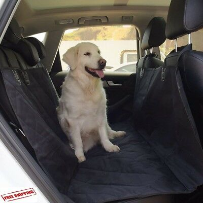 Pet Car Seat Cover SUV Van Back Rear Bench Waterproof Hammock for Dog Cat Truck