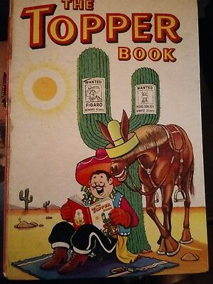 The Topper Book/Annual- 1961- Good condition- Beezer Very colourful pages