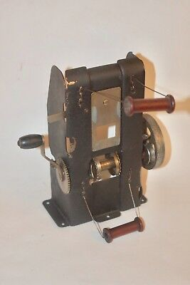HOLLYWOOD Montgomery Wards Hand-Crank 35MM Projector CRANK & FEED ASSEMBLY #55