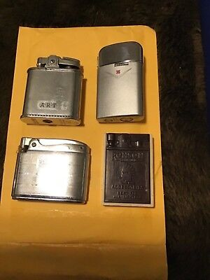 Collectible RONSON Cigarette Lighters plus Accessories Kit