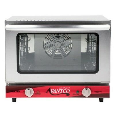 Avantco 1/4 Size Commercial Restaurant Countertop Convection Oven Pizza NEW