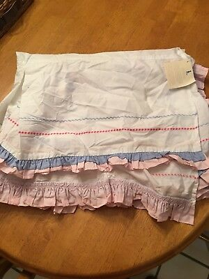 *NEW* Pottery Barn Girls Toddler Bed Skirt