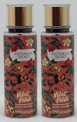 2 Victoria's Secret VELVET PETALS Fragrance Body Mist