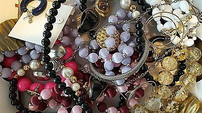 Nice Huge Vintage To Now Jewelry Lot Estate  Unsearched Untested. All Wearable!