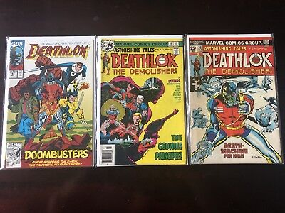 Deathlok Lot (Astonishing Tales 26 Second Appearance)