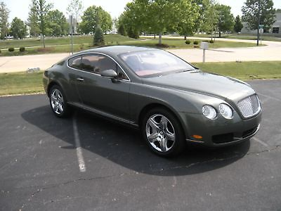 Bentley Continental GT 2005 BENTLEY CONTINENTAL GT 16K MILES ONE OWNER FREE SHIPPING
