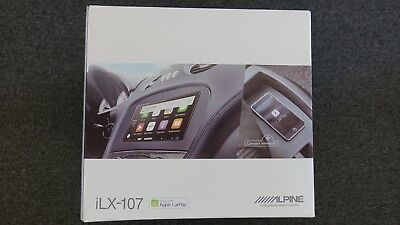 "NEW Alpine ILX-107 7"" Radio with Apple CarPlay"