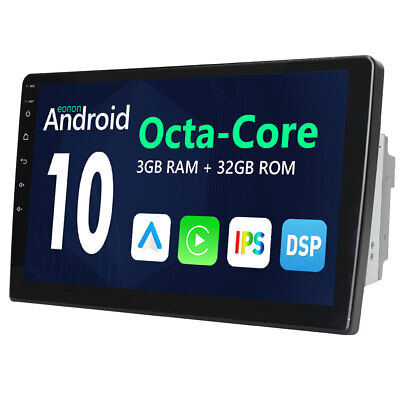 "In Dash 7"" Double 2 Din Android 7.1 Car Radio Stereo GPS Sat Nav WiFi OBD2 DAB+"