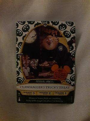 Clawhauser's Tricky Treat Disney Sorcerers of the Magic Kingdom 2016 Exclusive