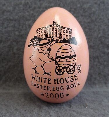 White House Easter Egg Hunt Roll Bill Hillary Clinton 2000 Pink Official Holiday