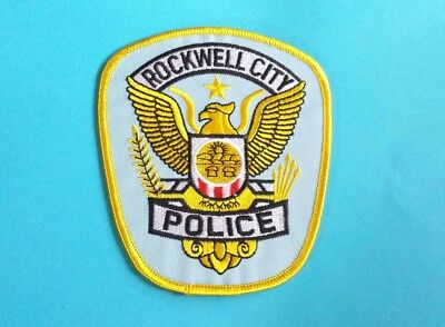 Rockwell City Iowa Police Shoulder Patch