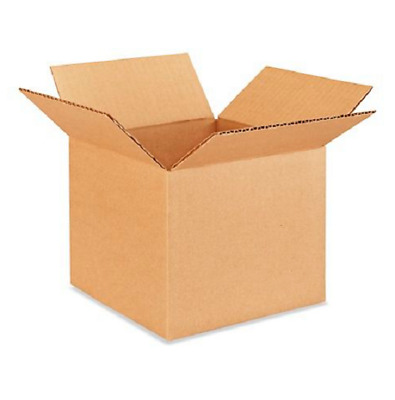 50 7x7x6 Cardboard Paper Boxes Mailing Packing Shipping Box Corrugated Carton