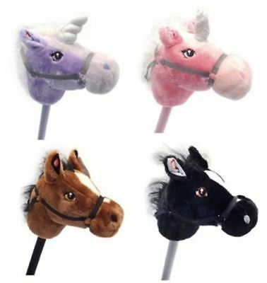 New Children Unicorn Hobby Horses in Four colour Real Horse Sound Kids Hobbies