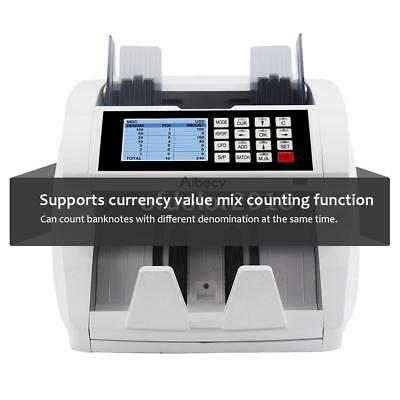 Banknote Cash Money Currency Counter Counting Machine Counterfeit Detector K6G7