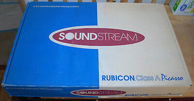 NEW NIB Soundstream Reference Class A Picasso AMPLIFIER W Cover