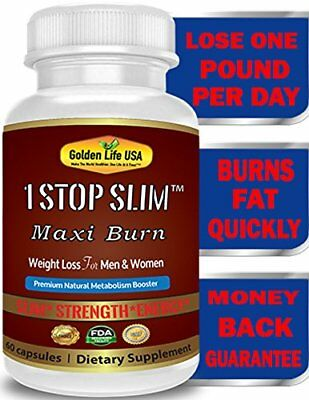1 Stop Slim Maxi Burn Weight Loss Pills Best Shape Reclaimed Fat Burner Product