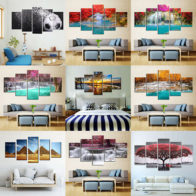 Hot Canvas Huge Modern Home Wall Art Oil Painting Picture Print Unframed Decor ~