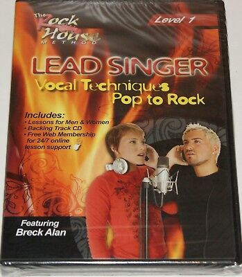 Lead Singer Vocal Techniques Pop To Rock Level 1 The Rock House Method DVD