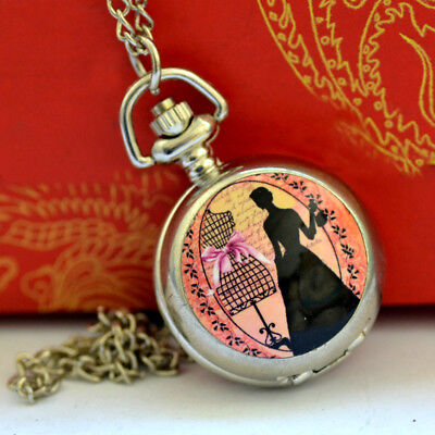 European Exquisite Classical beauty Pocket Watch LB06