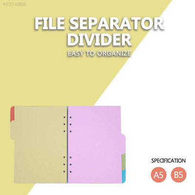 Index Sheets Folder Dividers School Supplies Stationery Creative File Dividers
