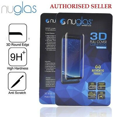 Galaxy Note 9 8 NUGLAS Tempered Glass Full Cover Screen Protector for Samsung