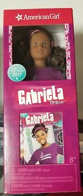 American Girl Gabriela Mini Doll New Abridged Book New Box Toy Girl Of The Year