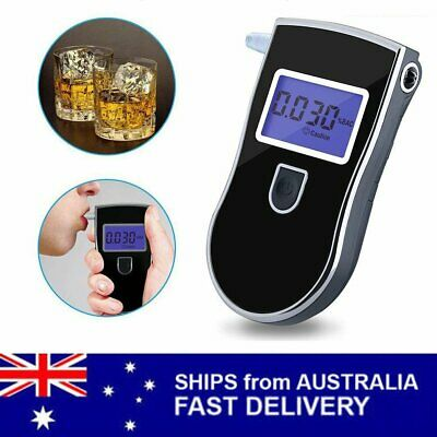 AU Portable Accurate Home Breath Alcohol Tester Testing Device Breathalyzer Test
