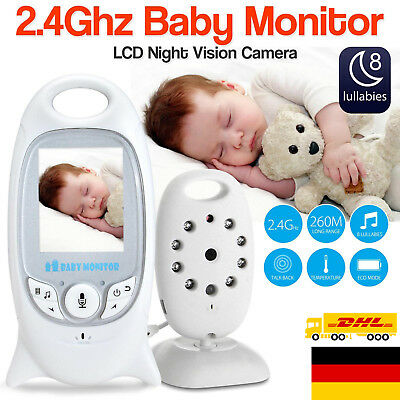 Baby Video Audio Monitor drahtlos Babyphone mit Kamera Babyviewer Nachtsich
