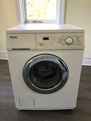 Miele Novotronic W 1986 washing machine - Water Control System