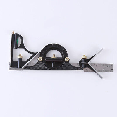Multi-function Square Stainless Steel Combination Angle Measuring Tool Ruler SM
