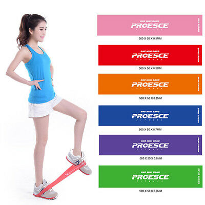 Exercise Resistance Loop Bands for Fitness Stretch Strength Physical Therapy
