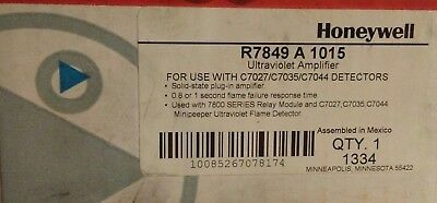 Honeywell R7849 A 1015 Ultraviolet Amplifier New Ships Free
