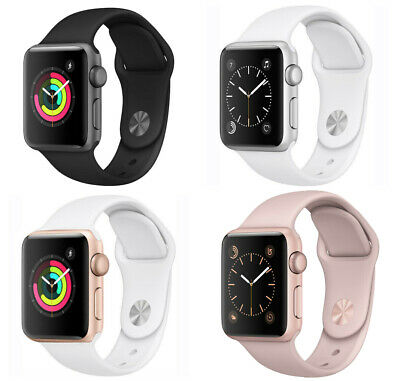 Apple Watch Series 2 (38MM / 42MM) Space Gray Silver Rose Gold GPS Only