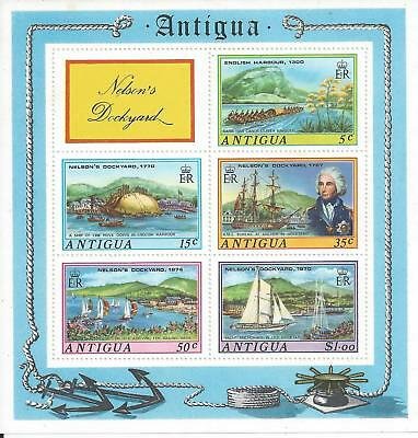 Antigua - 1974 Nelson's Dockyard - Miniature Sheet - Un-mounted mint