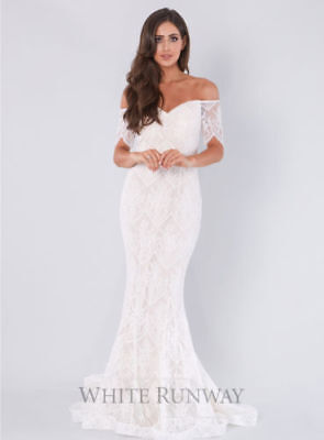 Stunning Jadore Wedding Gown ISADORA  Size 12 IVORY - NEW WITH TAGS  Free