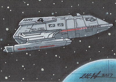 Star Trek Beyond Movie 2017, SketchaFEX sketch Card