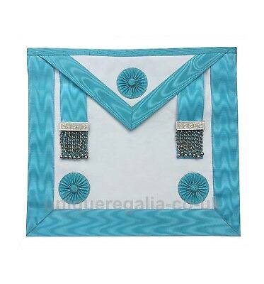 Masonic Regalia Craft Master Mason Apron , real quality leather