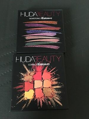 Palettes Huda Beauty Neuves Coral + Gemstones Obsessions
