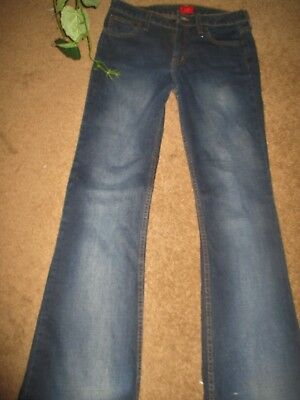 WOMENS/Jrs MOSSIMO blue denim BOOT CUT jeans size 9 EXCELLENT