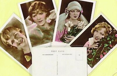 ROSS VERLAG FOREIGN - 1930s Hand-Coloured/Tinted Film Star Postcards #1 to #80