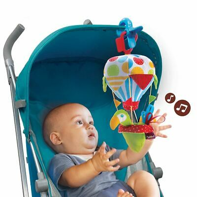 Yookidoo Stroller Rattle Toy Baby Tap N Play Balloon Music & Sound Baby Activity