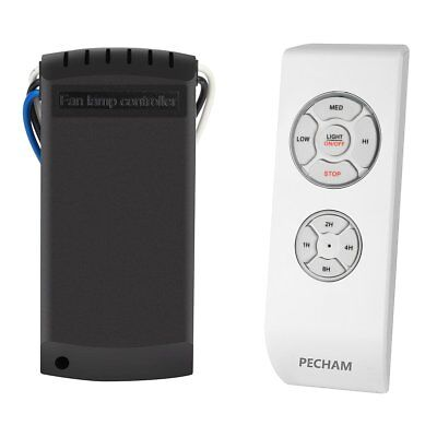 PECHAM F2 Fba Universal Lamp Kit and Timing Wireless Remote Control for Ceiling