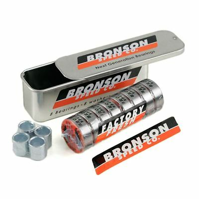 Bronson Speed Co Skateboard Bearings G3 Enough For One Setup 8 In A Pack New
