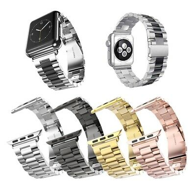 Multicolor Stainless Steel Wrist Band Strap for Apple Watch 3 2 1 38mm/42mm UK