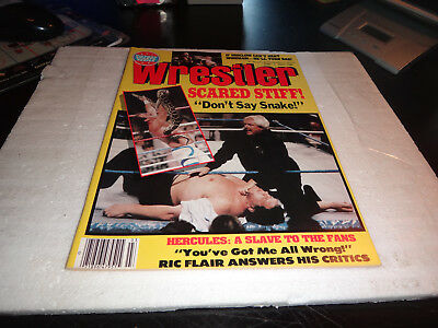 the wrestler victory sports magazine march 1989 jake the snake andre the giant w